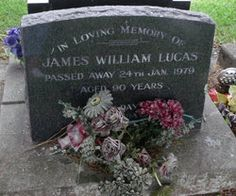 James Wlliam Parker Benjamin Lucas (1888 - 1979) - Find A Grave Photos h/o Olive Jessie & Rita Rhoda - Papakura Cemetery