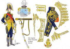 Honoré Joseph Antoine GANTEAUME, Colonel-Commandant des Marins de la Garde 1811-1812