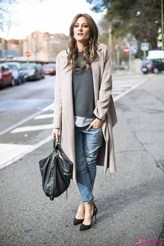 Winter Casual Street Style Chic Outfits - LookVine
