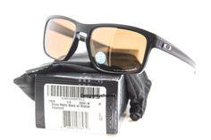 OAKLEY OO9262-08 Silver Matte Black W Bronze Polarized Sunglasses NWC AUTH  #Oakley