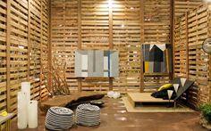 | El encanto de la madera en el diseño de stands