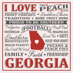 Georgia born, reared in Florida.  Understand every bit of this!