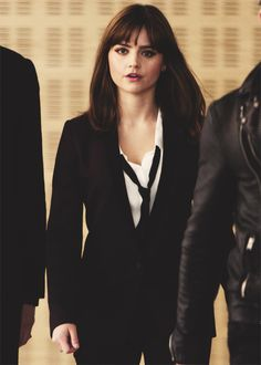 "Jenna Coleman as Clara in ""Time Heist""."