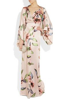 What to wear while staring out into the summer night sky from your penthouse balcony overlooking Lake Como. Stunning.  By Temperley London.