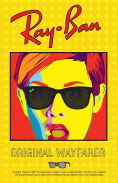 Such a cool #TBT ad for #RayBan