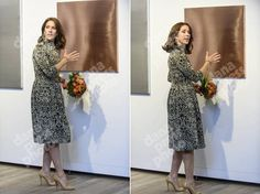 "Crown Princess Mary of Denmark attends the ""St. Loye Prize 2015"" ceremony at Round Tower on October 2, 2015 in Copenhagen, Denmark."