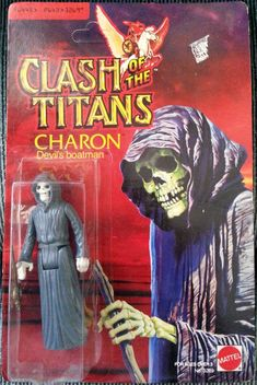 MATTEL: 1981 Clash of the Titans CHARON Devil's Boatman Figure