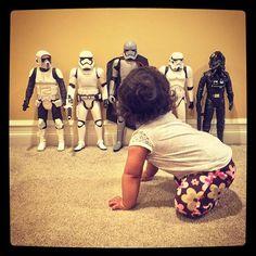 Jedi's First Birthday Presents - Her First Dolls