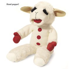 Lamb Chop Puppet - Kitchen products, Home Décor, Apparel, Gardening and more   Country Store