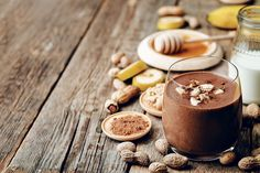 Chocolate Peanut Butter Smoothie by Melissa Freixa