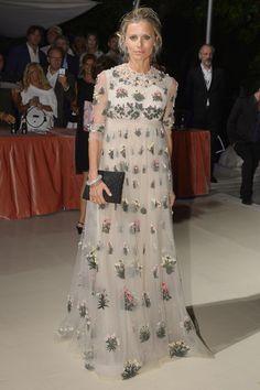 Laura Bailey in Valentino - Venice Film Festival 2015 Red Carpet Pictures | Harper's Bazaar