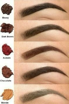 Base maquillage: Le maquillage des sourcils - Best of pins! Eyebrow Shading, Eyebrow Makeup, Skin Makeup, Eyebrow Tips, Basic Makeup, Makeup Tips, Beauty Makeup, Eye Base, Artistic Make Up
