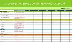 30 best editorial content calendar templates images on pinterest business plan calendar template marketing calendar excel template word business plan 2017 9 a maxwellsz