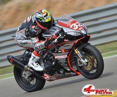 Lorenzo Savadori - Aprilia Racing by Nuova M2 Team  www.sprintfilter.net/en/bike/products/aprilia/rsv4