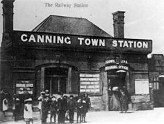 Canning Town Railway Station, 1923.