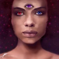 Garnet — Fusion of Ruby and Sapphire - Steven Universe