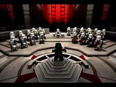 Lego - Star Wars Theme- Don't know why it's called Hall of the Mouontain King.  But still it's a great Star Wars/Lego video.  Fun to show for instruments being played.