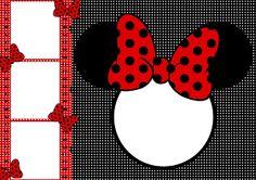Minnie mouse para enmarcar fotos:Imagenes y dibujos para imprimir