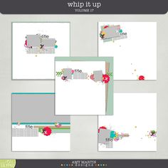 Templates: Whip It Up v17 by Amy Martin Designs