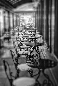 Paris. #EresParis #EresInspired #Parisian #Lingerie #FW15 #BlackandWhite #Light #Cafe #Architecture #Details #Paris