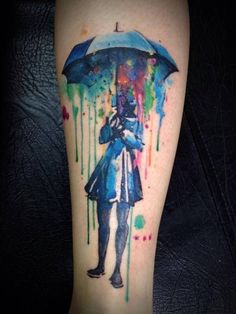 If you are looking for a trendy or artistic tattoo, watercolor tattoos might be the way to go.