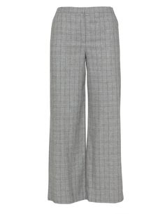 Checked wide trousers by navabi. Shop now