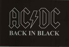 AC/DC. Back in Black. What more needs to be said..? An awesome poster for any fan! Fully licensed - 2015. Ships fast. 24x36 inches. You'll be Thunderstruck by our amazing selection of AC/DC posters! N