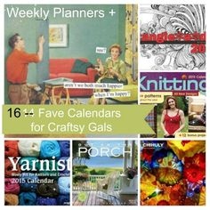 Beautiful Weekly Planners and Calendars 2015 ... for craftsy folks. Well, that's us. My favorite is the weekly planner with goal setting ...
