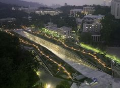 Image 12 of 56 from gallery of Ewha Womans University / Dominique Perrault Architecture. Photograph by André Morin