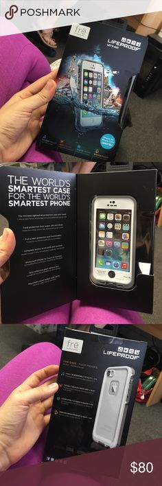 Lifeproof iPhone 5s case. Life proof iPhone 5s case. Box has never been opened! LifeProof Other