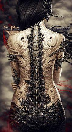 http://ego-alterego.com/2012/08/digital-art-by-alexander-fedosov/