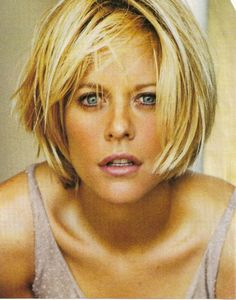 Meg Ryan Short Bob: More