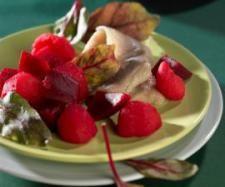 Śledź z buraczkami i ziemniakami | Przepisownia test tolles rezept