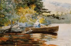 It's About Time: American artist Winslow Homer 1836–1910 takes us fishing...: