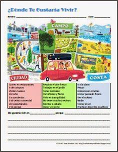 Ciudad, Campo o Costa by Anne Karakash