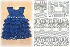 Dress crochet pattern child
