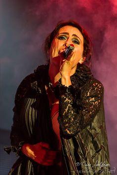 Within Temptation live on stage at Areál likérky Rudolf Jelínek, July 9th 2015, Vizovice, Czech Republic