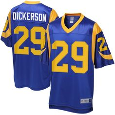 95f62f0ea Eric Dickerson Los Angeles Rams NFL Pro Line Retired Player Jersey - Blue