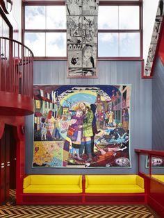 Wall art /Grayson Perry house
