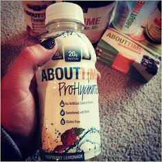 Got Protein? Getting mine post workout just got easier with @tryabouttime new product ProHydrate! It's tasty, refreshing and has 20g of protein, raspberry lemonade is my jam! Try it out, so good! TODAY ONLY- code REFRESHING- buy 1 get 1 FREE on single drinks  #regram from AboutTime athlete @walkercourtney5  #tryabouttime #crossfit #likeagirl #thetrainingplan #fitness #recovery