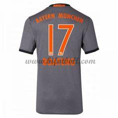 Billiga Fotbollströjor Bayern Munich 2016-17 Boateng 17 Kortärmad Borta Matchtröja