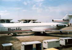 Republic Airlines, Boeing 727 200, Boeing Aircraft, Commercial Aircraft, Aviation, Collection, Air Ride, Aircraft
