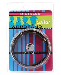 Mistress Word Collar