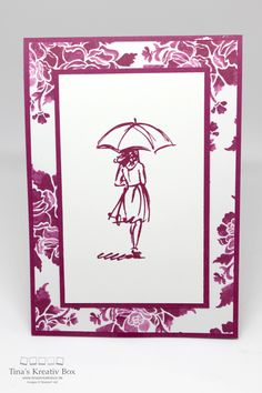 """Einfache Karte """"Mit Stil"""", mit Produkten von Stampin' Up!"""
