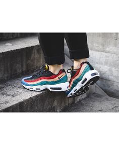 wholesale dealer 9efd3 151dc Nike Air Max 95 Shoes Are Light In Design And Fashionable Outside, They Are  Comfortable To Wear And Suitable For Sports, The Maximum Discount Sales To  You!