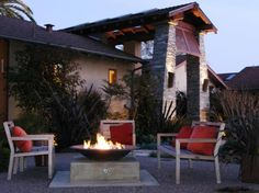 10 Beautiful Pictures of Outdoor Fireplaces and Fire Pits   Outdoor Design - Landscaping Ideas, Porches, Decks, & Patios   HGTV