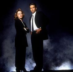 The X-files - Scully & Mulder