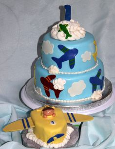 airplane birthday cakes for kids | airplane cake carrot cake filled with cream cheese covered in mmf and ...