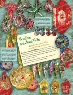 The Golden Glow of Christmas Past Sample Issue Old World Christmas Ornaments, Vintage Christmas Images, Christmas Catalogs, Christmas Past, Retro Christmas, Vintage Holiday, Rustic Christmas, Vintage Gifts, All Things Christmas