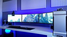 Awesome setup!! #setup #setups #gamesetup #gamersetup #pc #pcsetup #gamepc #gamergirl #gamer #games #monitor #custombuild #customized #white #design #follow #followformore http://xboxpsp.com/ipost/1490478391051162694/?code=BSvPjMkABRG